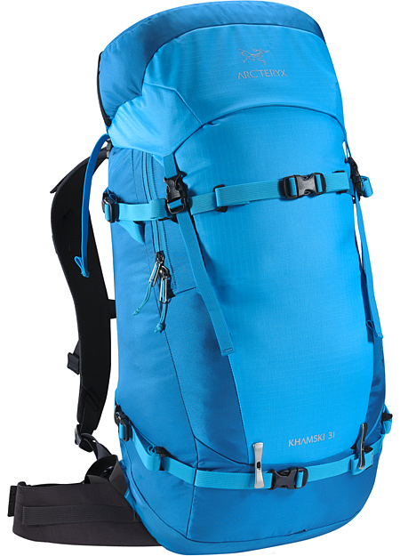Khamski 31 Backpack Single day pack specifically created to carry the tools necessary for freeride ski touring, split boarding and ski alpinism.