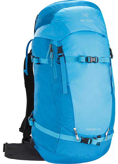 Khamski 38 Backpack Backcountry pack created and sized to carry the tools necessary for ski touring and ski alpinism on long day trips or multi day adventures.