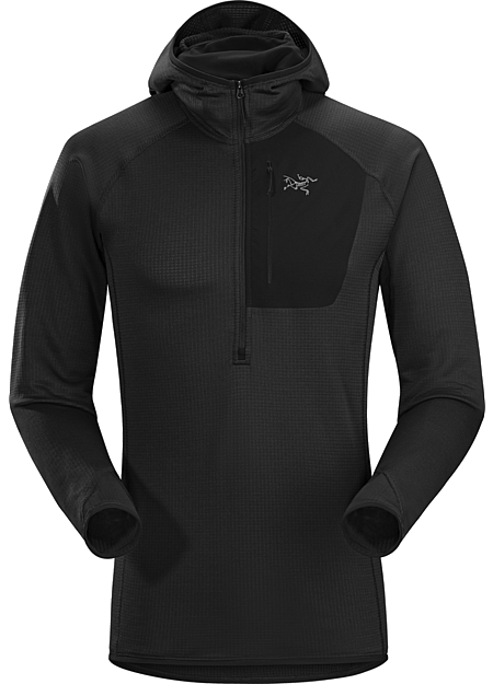Konseal Hoody Men's Versatile, trim fitting Polartec® Power Dry® hoody for climbers and alpinists.