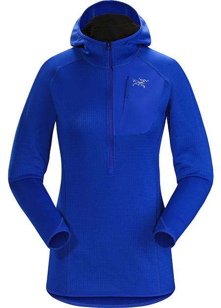 Konseal Hoody Women's Versatile, trim fitting Polartec® Power Dry® hoody for climbers and alpinists.