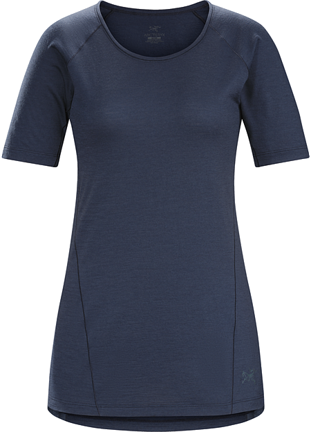 Lana Shirt SS Women's Comfortable, lightweight, highly versatile short sleeve hiking shirt made with an advanced Merino wool technology that combines natural fibre comfort with extended durability.
