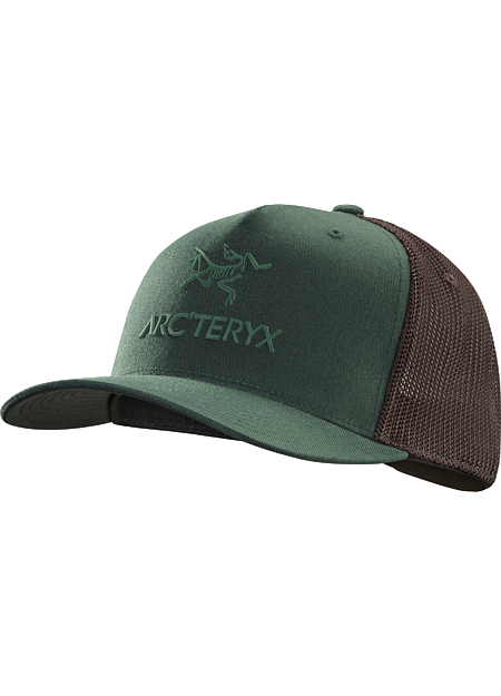 Logo Trucker Hat Classic mesh backed trucker hat with a rubberized Arc'teryx graphic on the front.