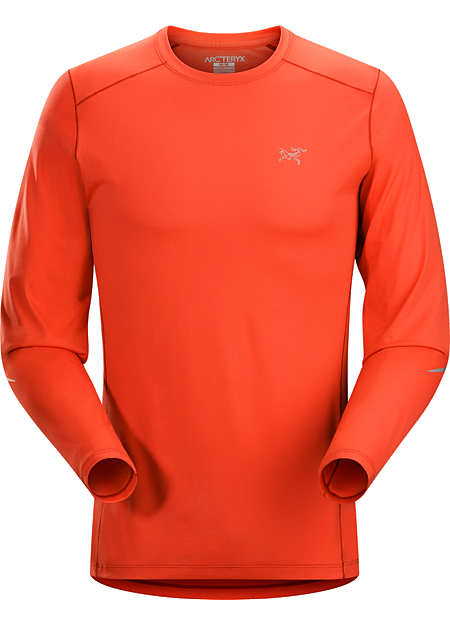 Motus Crew Neck Shirt LS Men's Technical trail running shirt delivering outstanding moisture management.