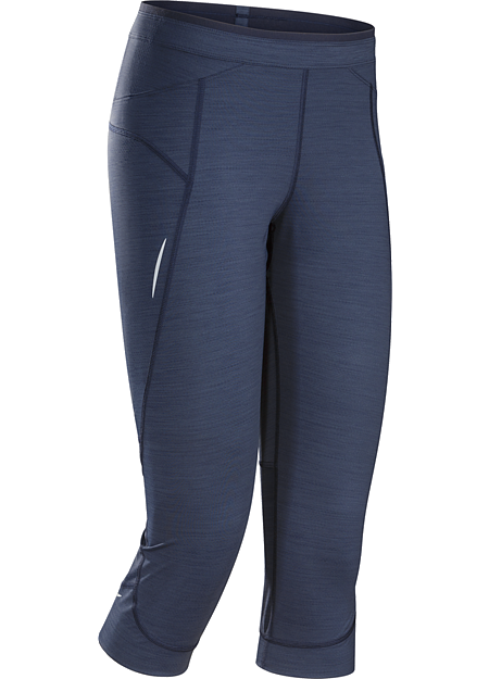 Nera 3/4 Tight Women's Lightweight performance trail running tight.