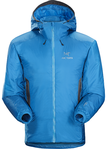 Nuclei AR Jacket Men's Weather protection and warmth in a jacket for cold, wet belays and bivies.