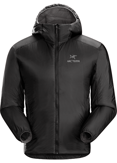 Nuclei FL Jacket Men's Compact, lightweight Coreloft™ synthetic insulated belay jacket with a high warmth to weight ratio and a light, strong, compressible Arato™ nylon shell.