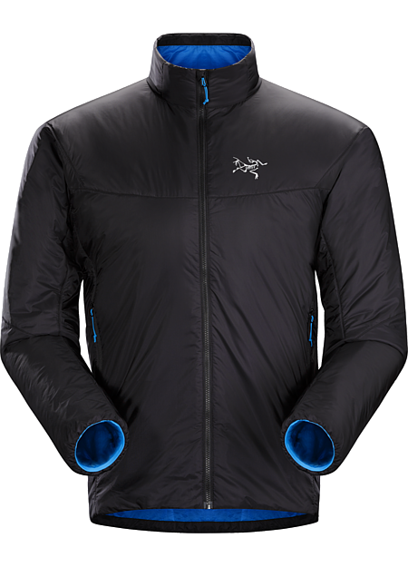Nuclei SL Jacket Men's Minimalist, efficient Coreloft™ insulated three-season belay jacket with a high warmth to weight ratio and ultralight, highly compressible Arato™ 10 nylon shell.