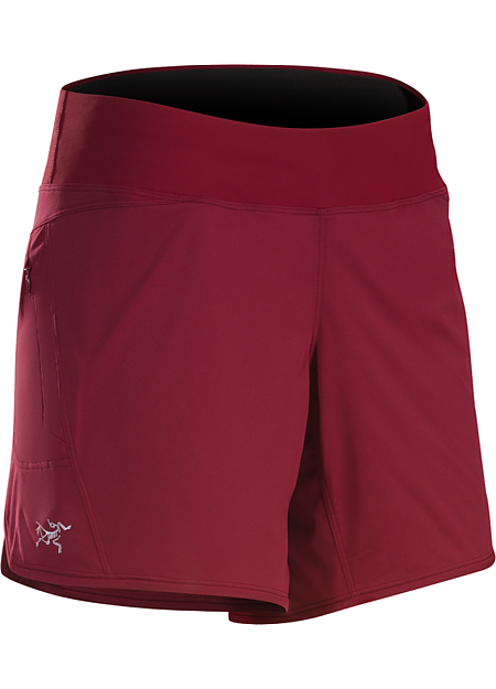 Ossa Short Women's Lightweight, comfortable, highly versatile Knik™ fabric short for mountain training and high output activities.
