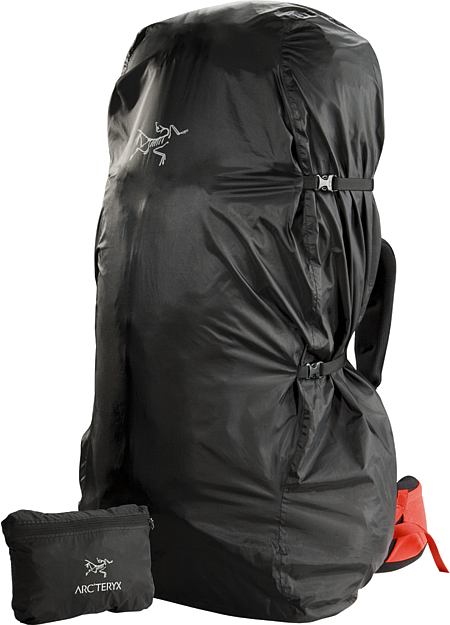 Pack Shelter L Lightweight and packable pack cover; Fits most packs up to 95L
