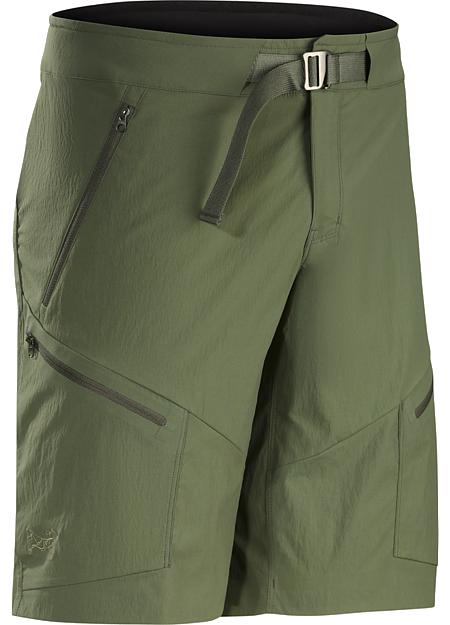 Palisade Short Men's Tough, light, technical nylon short delivers air permeable, quick drying comfort for hiking, trekking and backpacking.