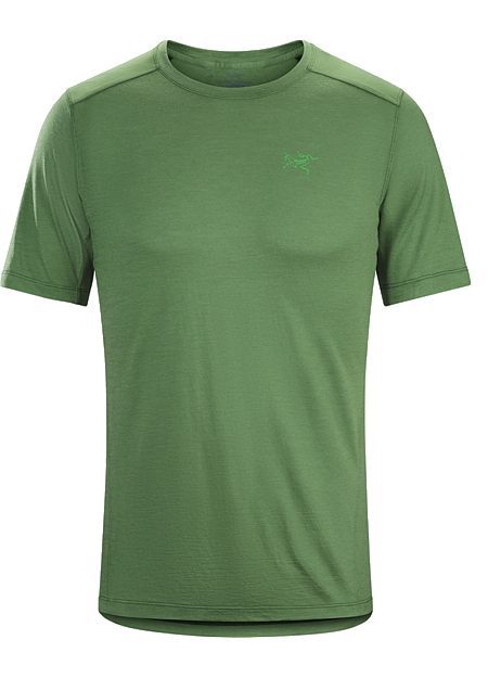 Pelion Comp Shirt SS Men's Lightweight Merino wool hiking and trekking shirt delivers natural fibre comfort and performance with the added durability of nylon.