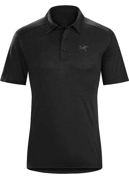 Pelion Polo Shirt Men's Lightweight Merino wool polo shirt designed for hiking, trekking and travel delivers natural fibre comfort and performance with the added durability of nylon.