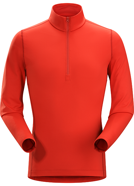 Phase AR Zip Neck LS Men's Midweight Phasic™ baselayer zip-neck top for all round use cooler temperatures. Phase Series: Moisture wicking base layer | AR: All-Round.