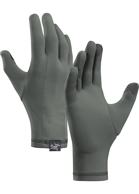 Phase Glove Men's Lightweight, touch screen compatible Phasic™ glove designed for use as a standalone or liner. Phase Series: Moisture wicking base layer.