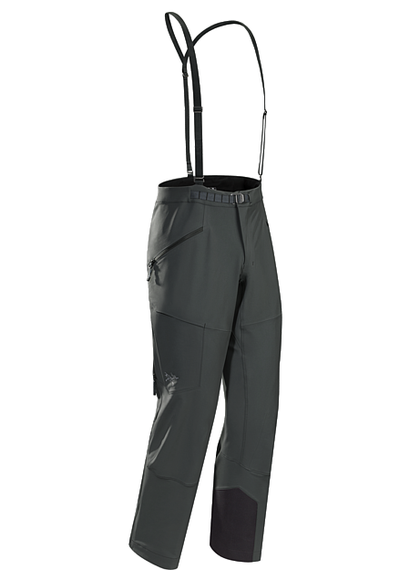 Procline FL Pant Men's Ski alpinist's trim fit softshell pant delivers performance stretch, freedom of movement, snow protection and thermal management during high output technical climbs and challenging ski descents.