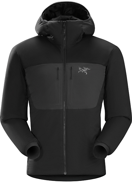 Proton AR Hoody Men's Warm air-permeable insulation that self-regulates to prevent overheating. | AR: All-Round.