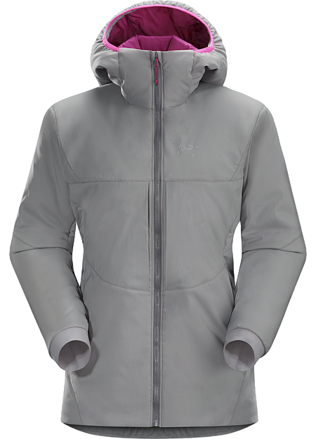 Proton AR Hoody Women's Warm air-permeable insulation that self-regulates to prevent overheating. | AR: All-Round.