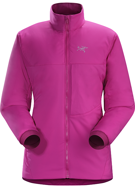 Proton AR Jacket Women's Warm air-permeable insulation that self-regulates to prevent overheating. | AR: All-Round.