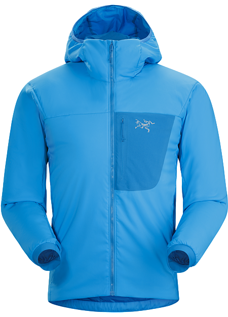 Proton LT Hoody Men's Midweight air-permeable insulation that self-regulates to prevent overheating . | LT: Lightweight.