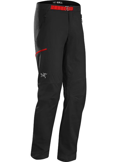 Psiphon FL Pant Men's Durable hybrid softshell pant for fast and light alpine climbing.