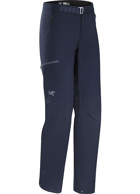 Psiphon FL Pant Women's Durable hybrid softshell pant for fast and light alpine climbing.