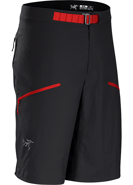 Psiphon FL Short Men's Durable hybrid softshell short for fast and light alpine climbing.