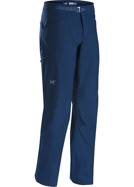 Psiphon SL Pant Men's Versatile, lightweight, trim fitting compact softshell pants built for multi-pitch rock climbing.