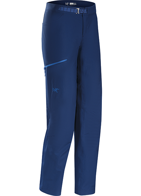 Psiphon SL Pant Women's Versatile, lightweight, trim fitting women's softshell pants designed for multi-pitch rock climbing.