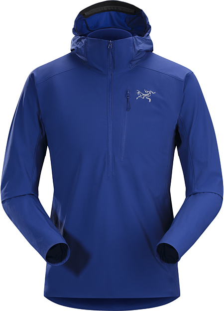 Psiphon SL Pullover Men's Versatile, superlight, compact, abrasion resistant softshell pullover for essential protection in alpine and rock environments.