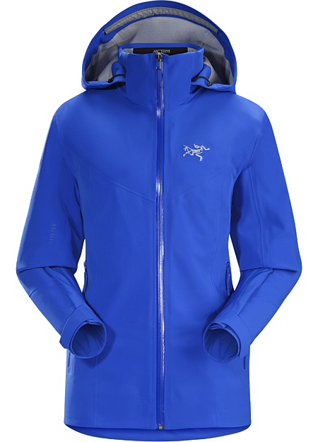 Ravenna Jacket Women's Trim fit GORE-TEX® on-area ski shell with the freedom of four-way stretch.