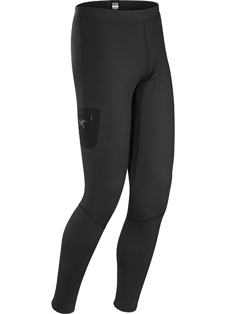 Rho LT Bottom Men's Torrent™ baselayer for lower output activities in cool to cold temperatures.