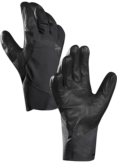 Rush Glove Durable GORE-TEX® hand protection with a leather palm, short cuff and Primaloft® insulation. Designed for big mountain freeride skiing and snowboarding.