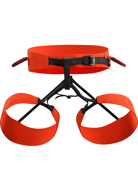 SL-340 Harness SL: Super light.The lightest and most compact Arc'teryx climbing harness is streamlined, nimble, and created specifically for sport climbing. Unisex size fits women and men.