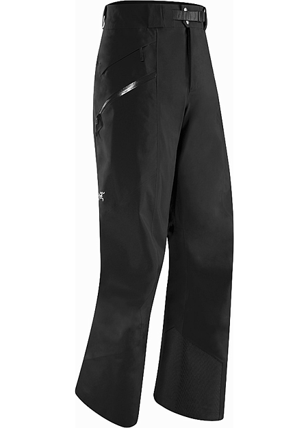 Sabre Pant Men's Lightly insulated, waterproof, GORE-TEX® pant with a Slide 'n Loc™ snap system that attaches to compatible jackets. Re-designed with a reduced lower leg circumference. Maintains the freeride styling but has a more contemporary look and athletic fit