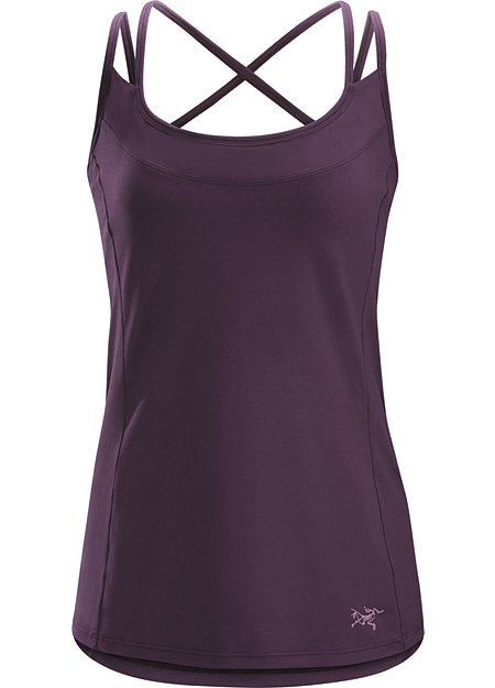 Senna Tank Women's Trim fit, quick drying women's tank top with comfort straps and a built-in shelf bra. Designed for hiking and daily adventure.