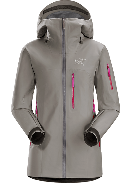 Shashka Jacket Women's Light and packable GORE-TEX® Pro jacket for backcountry ski and snowboard tours.