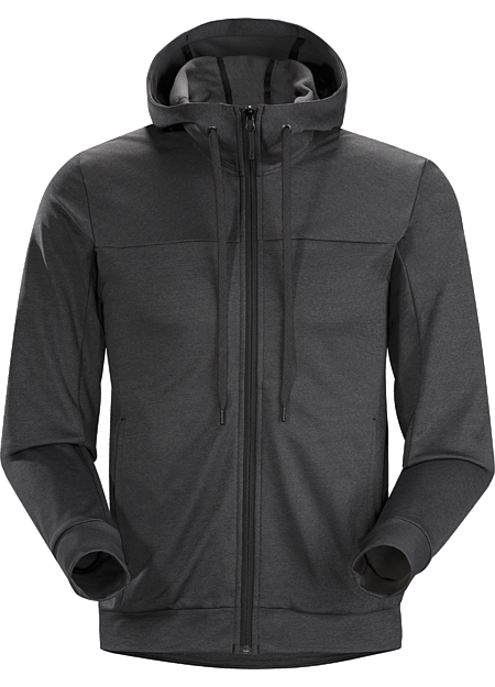 Slocan Hoody Men's Classic zip-front hoody made from a comfortable lightweight performance fleece. Great on its own or as a casual midlayer.