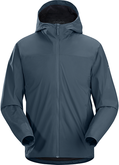 Solano Jacket Men's GORE® WINDSTOPPER® jacket for bike commuting and urban travel.