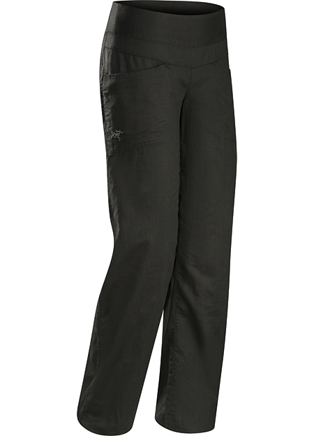 Spadina Pant Women's Lightweight, air permeable linen pant provides cool comfort and sun protection in hot weather.