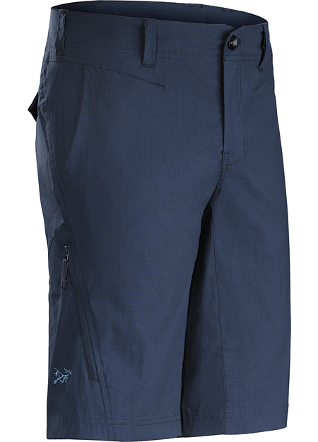 Stowe Short Men's Lightweight, air permeable trim fitting cargo short in a stretch cotton/nylon blend material.