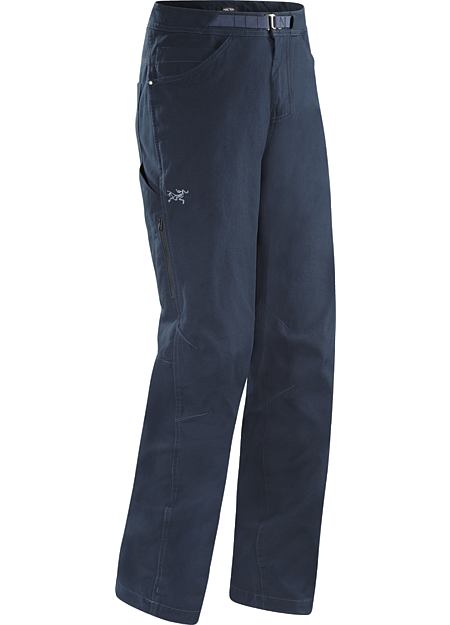 Texada Pant Men's Fully featured stretch canvas climbing pant with casual style that works off the rock.