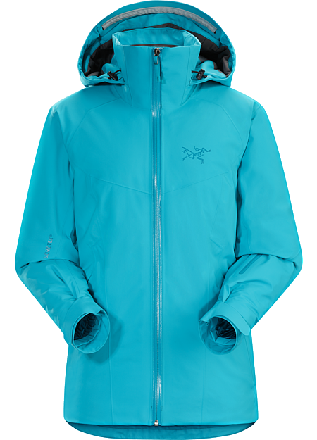 Tiya Jacket Women's Women's versatile, waterproof, breathable, fully insulated GORE-TEX® ski and snowboard jacket designed for repeated descents in cold conditions.
