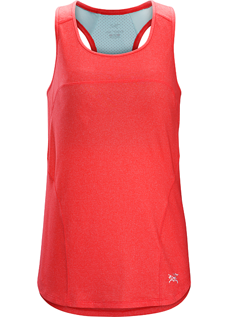 Tolu Tank Women's Lightweight training tank with good stretch, excellent feel next to the skin, and a built-in shelf bra.