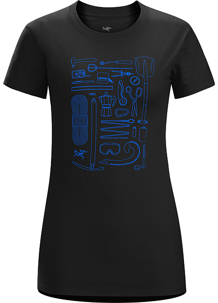 Tools Rule T-Shirt Women's Women's T-shirt with a graphic depicting the tools of the trade.