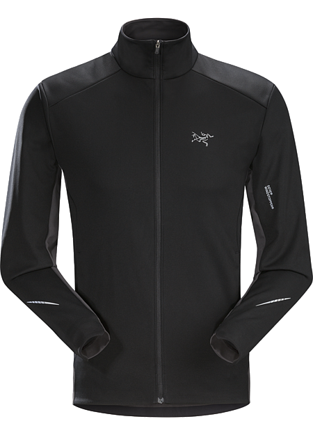 Trino Jacket Men's GORE® WINDSTOPPER® mountain training jacket for windy, cool, damp conditions.