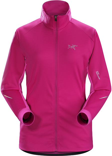 Trino Jacket Women's GORE® WINDSTOPPER® mountain training jacket for windy, cool, damp conditions.