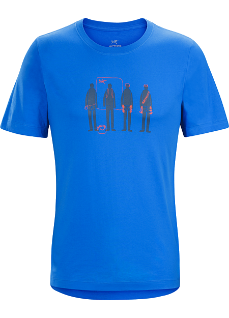 Usual Suspects T-Shirt Men's Organic cotton T-shirt highlighting climbing's personalities.