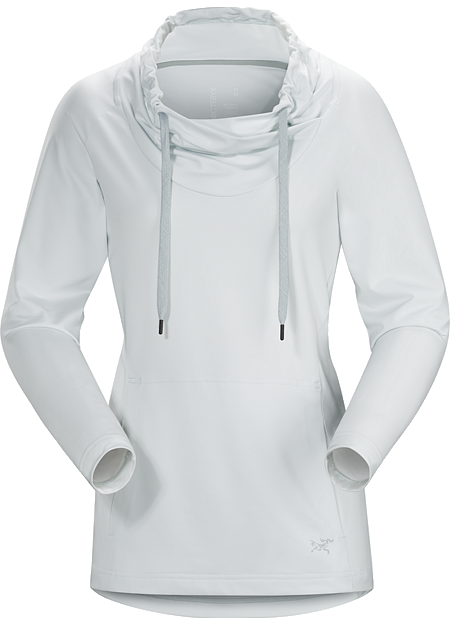 Varana Shirt LS Women's Long sleeved warm up top, made of soft, brushed  polyester with stretch.