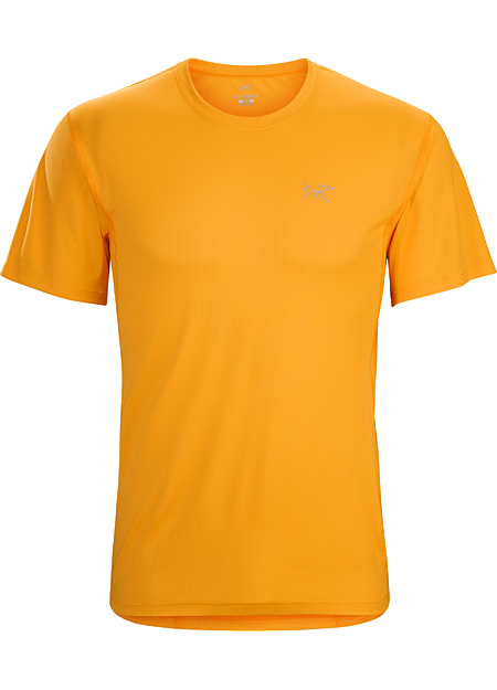 Velox Crew SS Men's Lightweight, air permeable Libro™ short sleeve polyester mesh shirt designed for maximum airflow while running, hiking or trekking in hot weather.