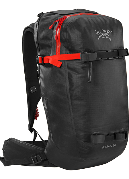 Voltair 20 Backpack Advanced, powerful 20L backcountry avalanche pack capable of multiple deployments. Battery and charger are sold separately.
